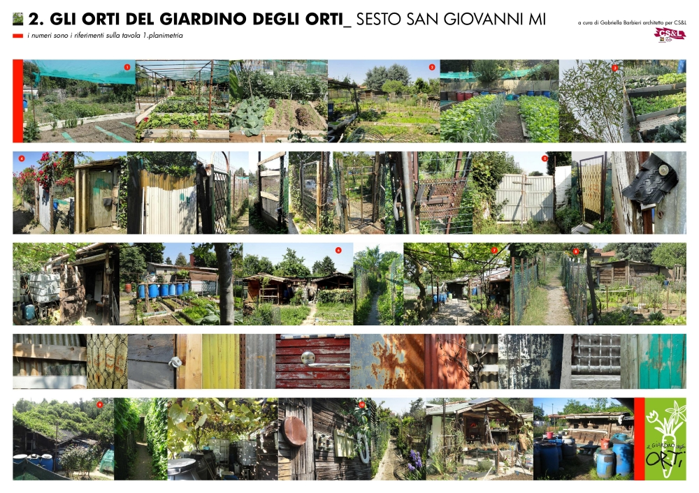 Pannello - Giardino degli orti